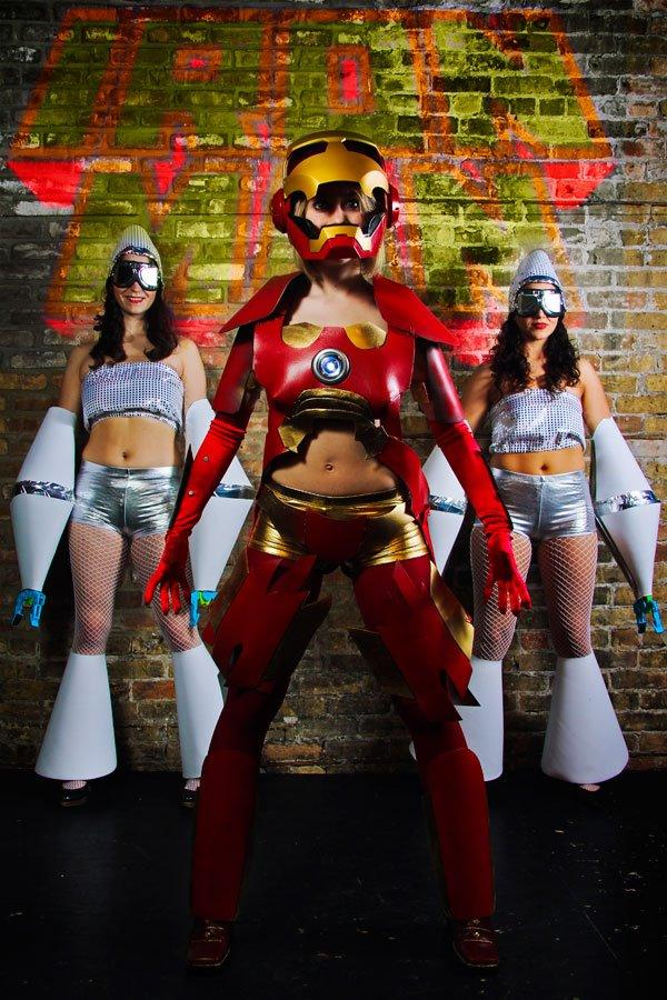 Iron Man Burlesque