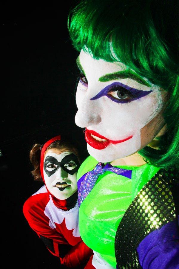 Stella Cheeks as the Joker