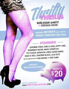 Thrifty Thrills Burlesque Benefit