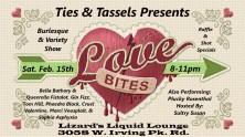 Ties and Tassels Love Bites